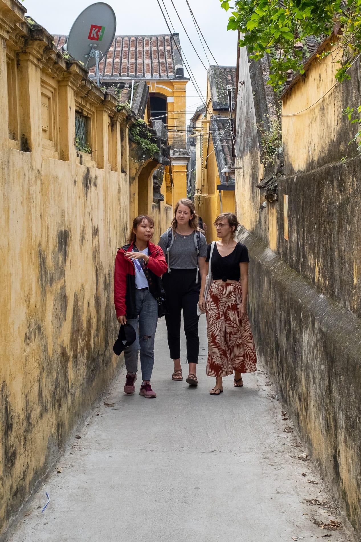 Hoi An alleyways