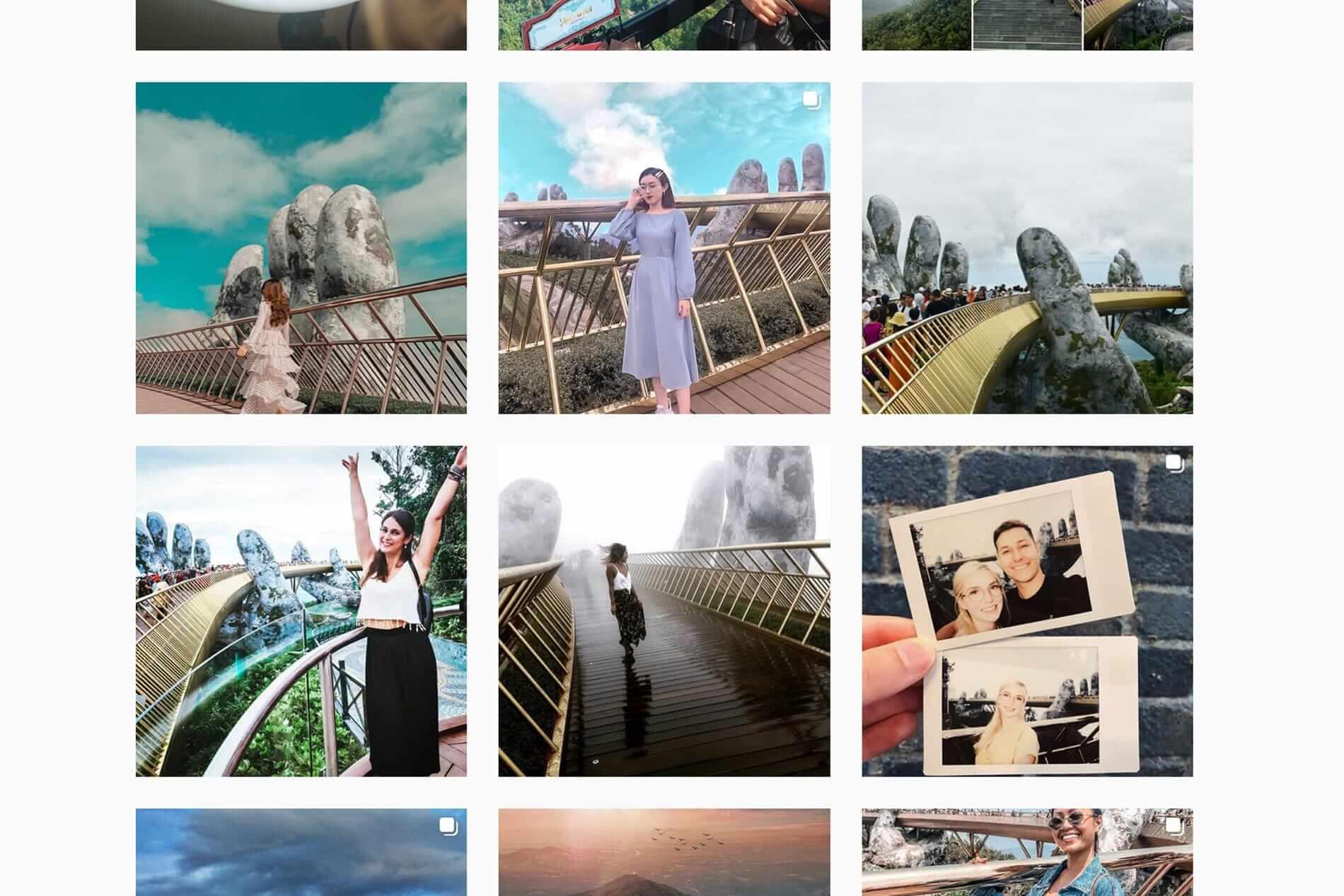 Instagram worthy pictures of the Golden Bridge