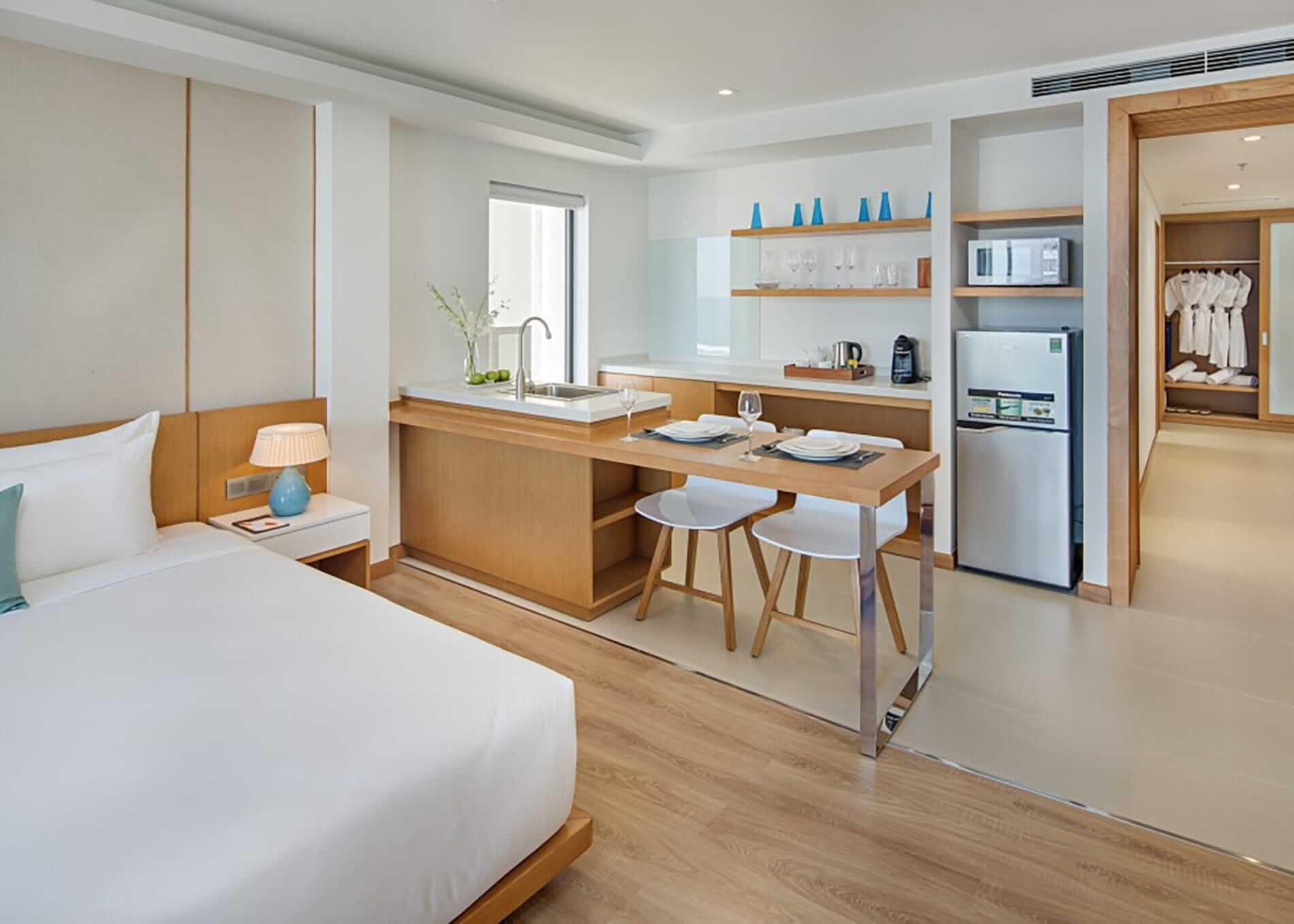 spacious family suite at TMS Hotel Da Nang