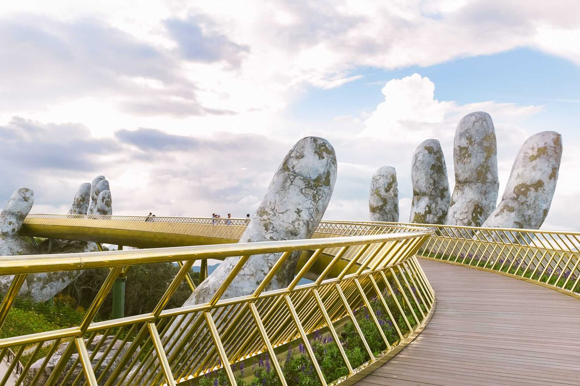 The Golden Hand Bridge