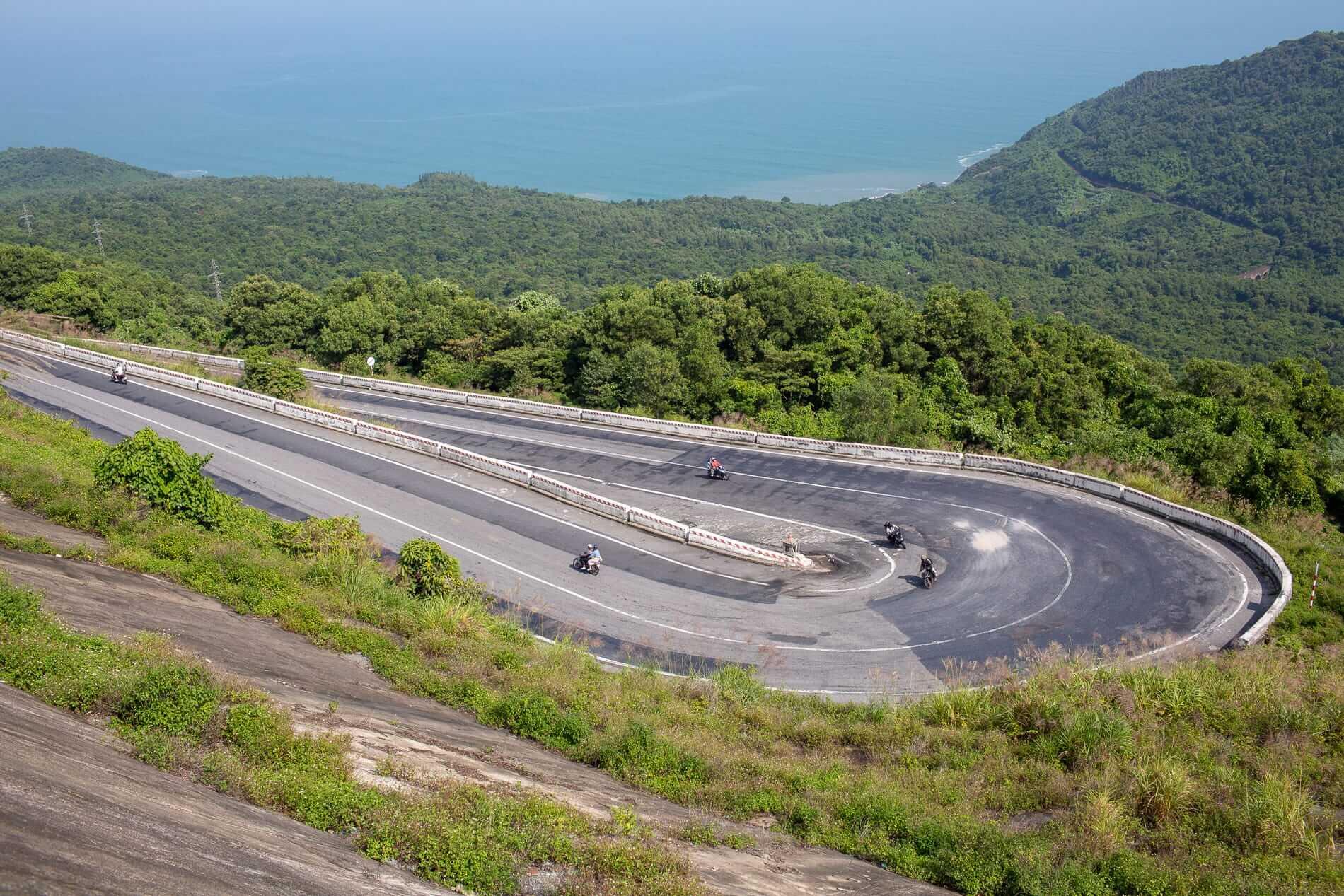 Experience the Hai Van Pass on motorbike tours