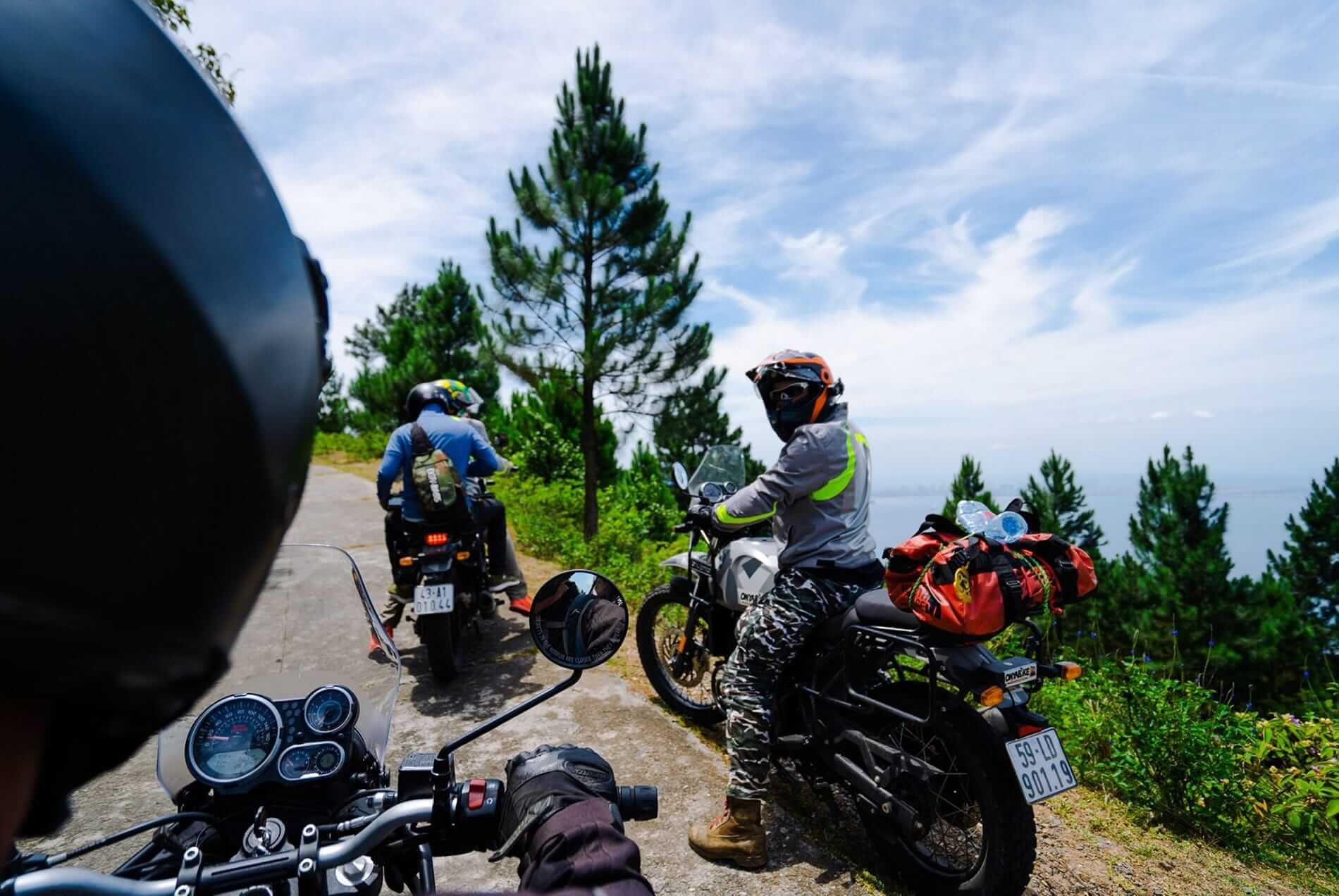 Stop over while doing motorbike tours in Hoi An