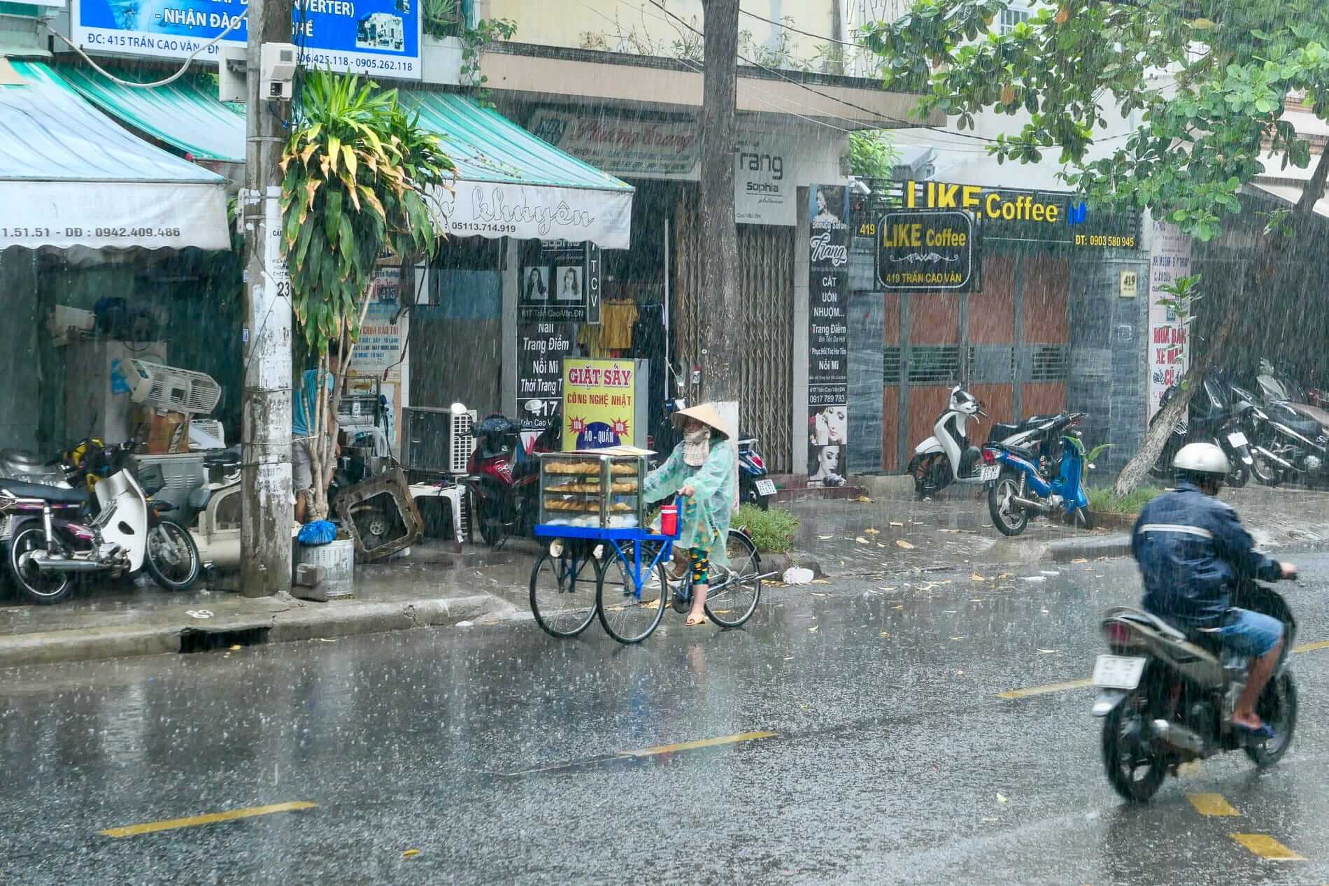 A rainy day in Da Nang