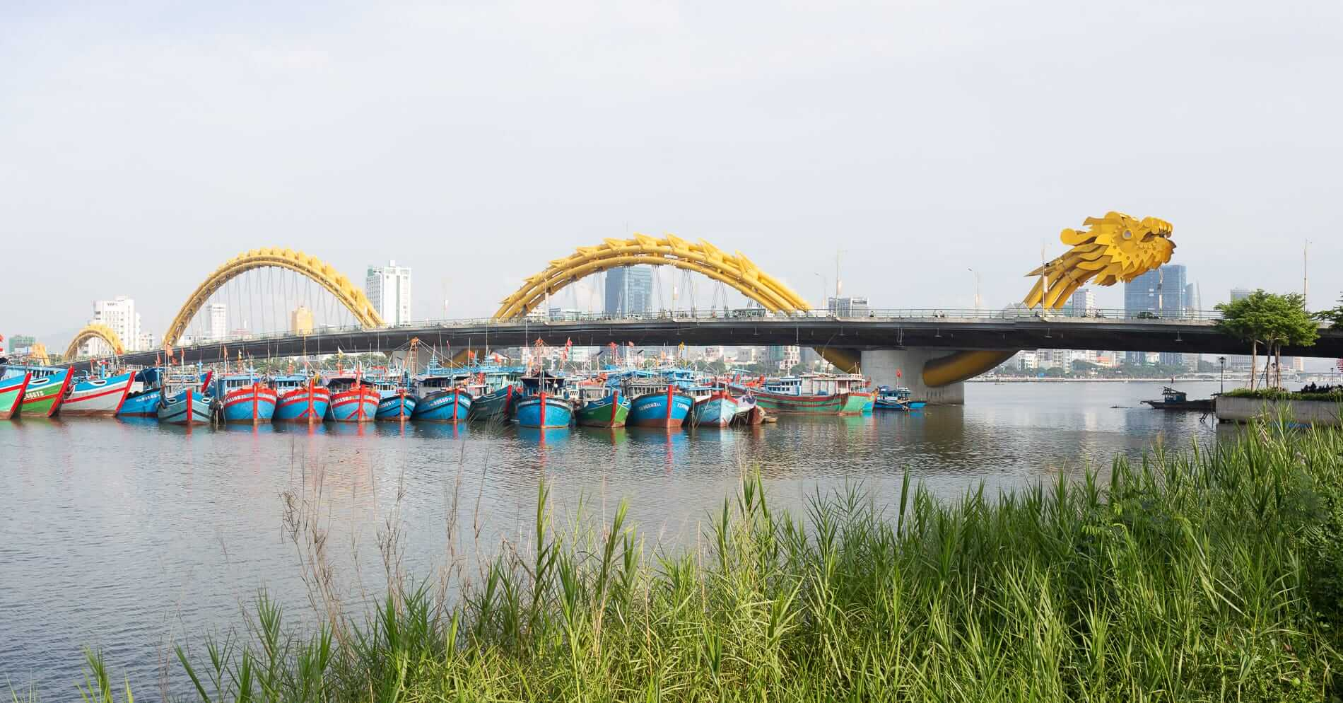 The Dragong Bridge in Da Nang