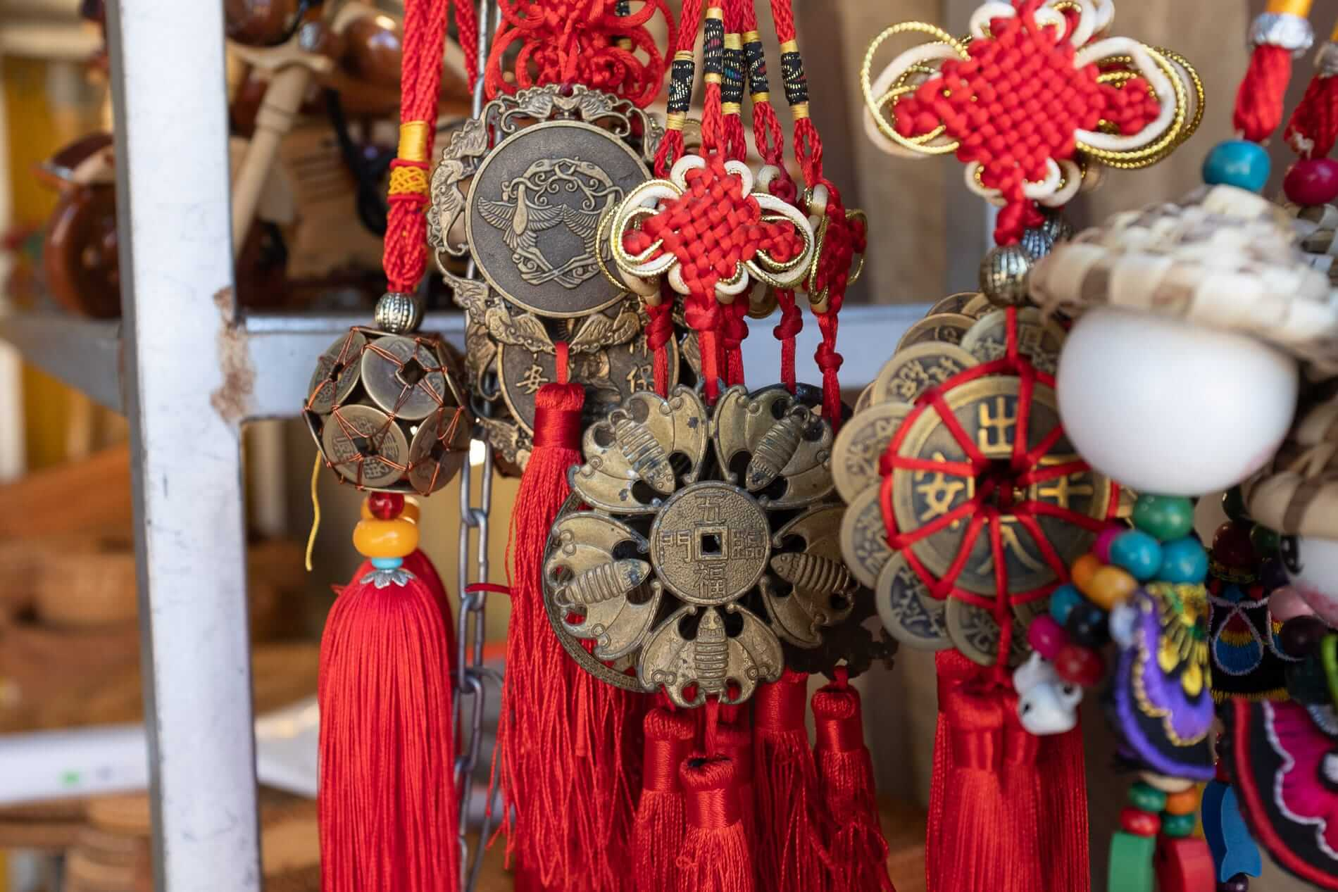 the best time to visit Hoi An is when Tet ornaments are displayed during Tet celebration