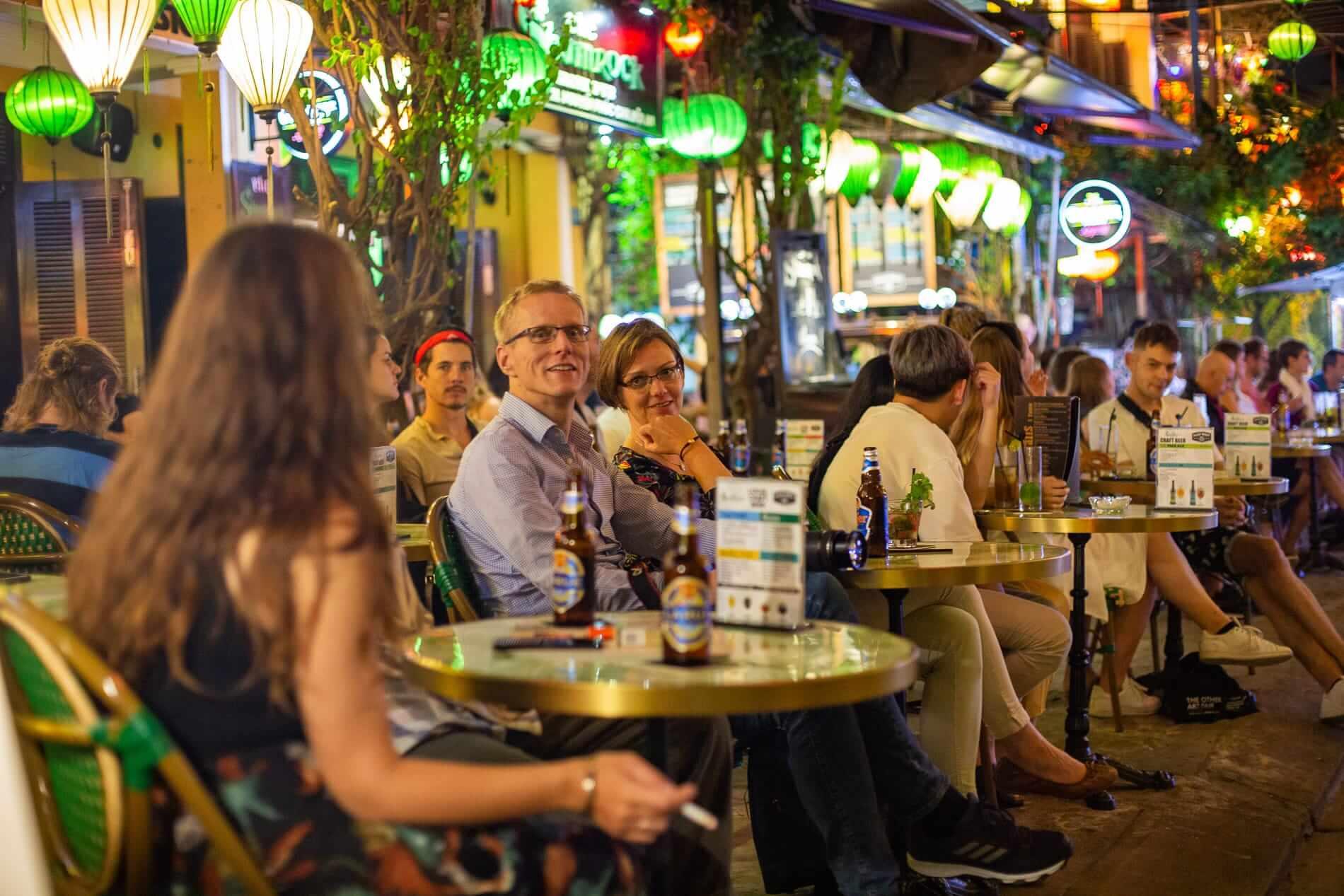 Hoi An riverfront bar