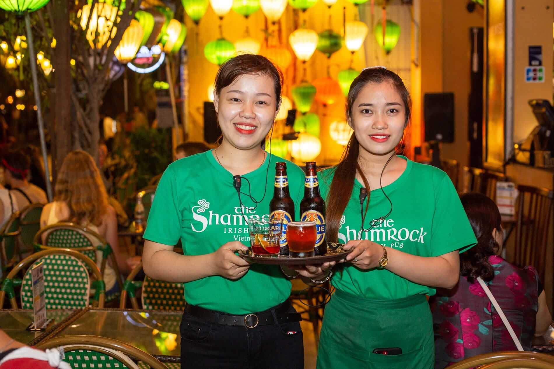 Hoi An bar staff