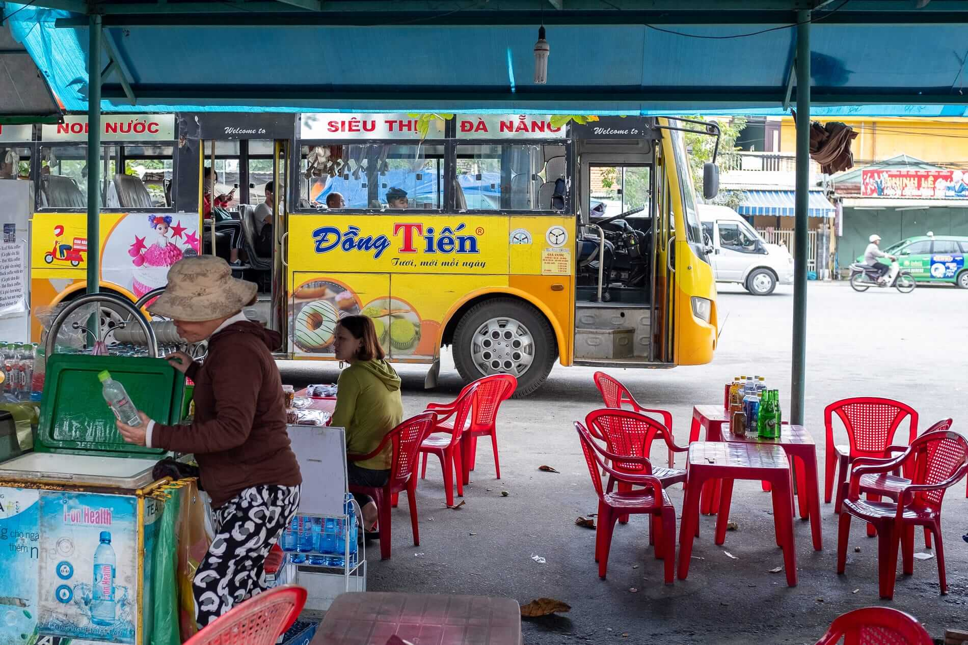 Hoi An's bus station