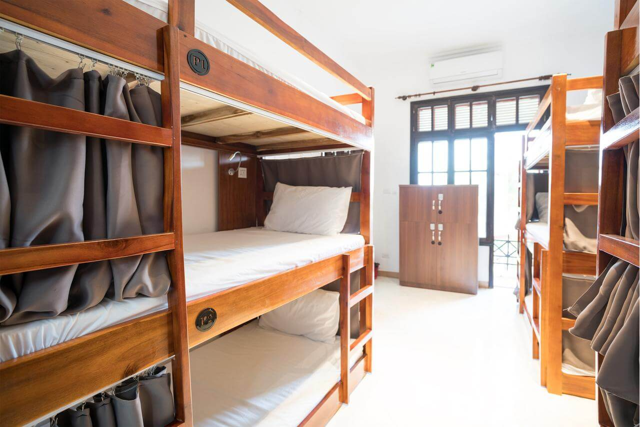spacious dorms at 7 Fridays West Lake