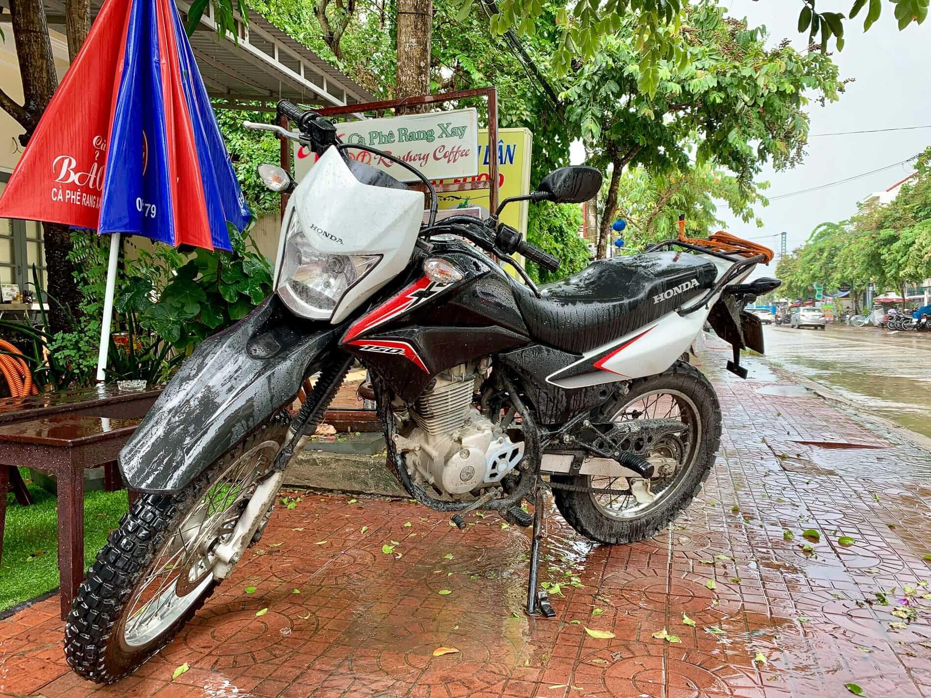 The Honda XR150