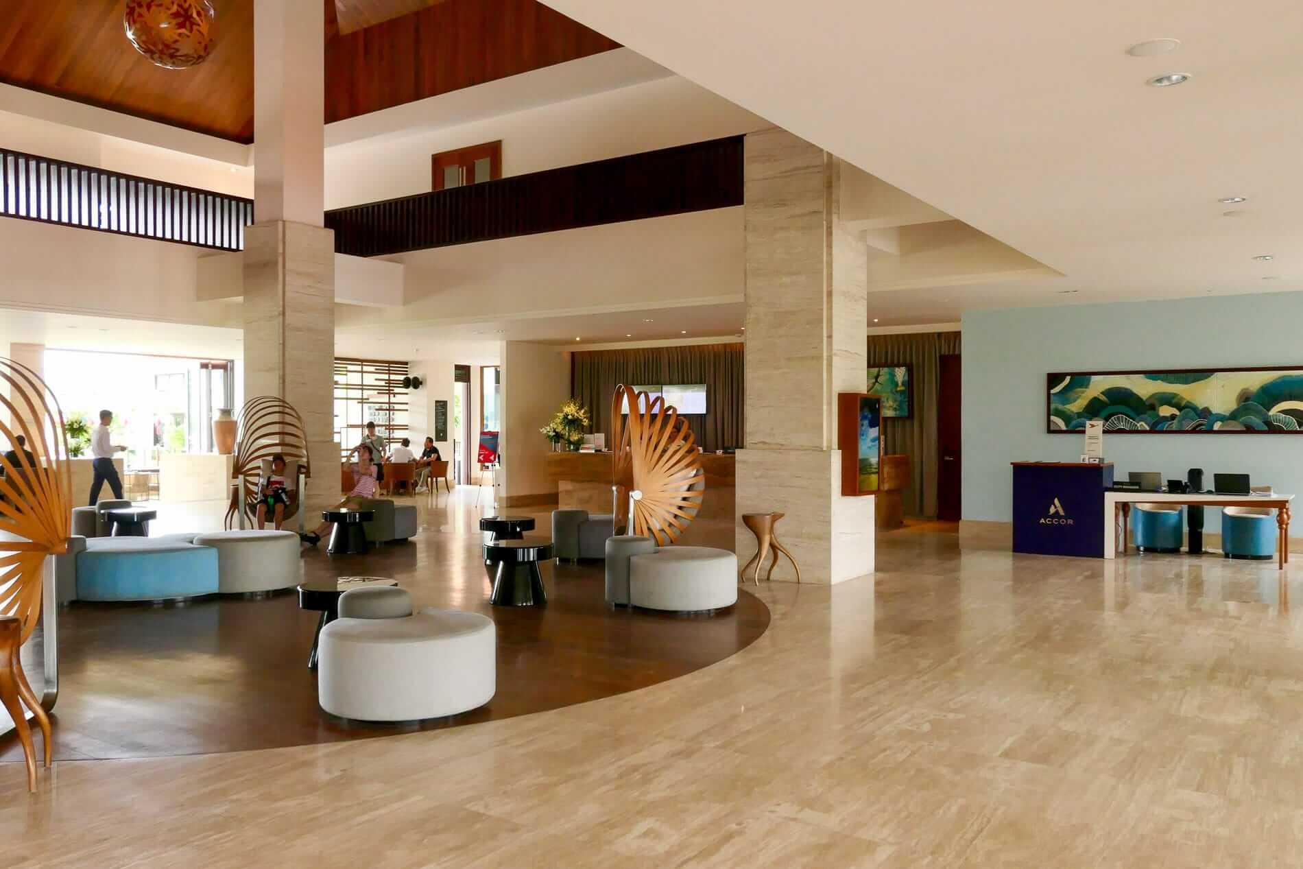 reception are a of Pullman Resort Da nang