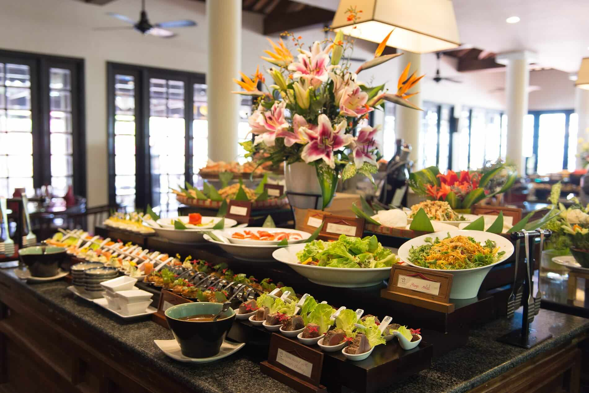 Enjoy breakfast at Victoria Resort Hoi An