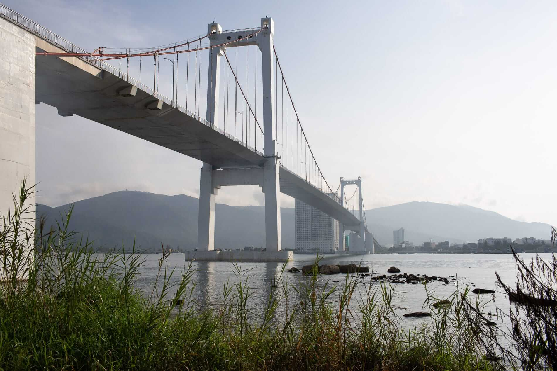 Thuan Phuoc Bridge in one of Da Nang bridges