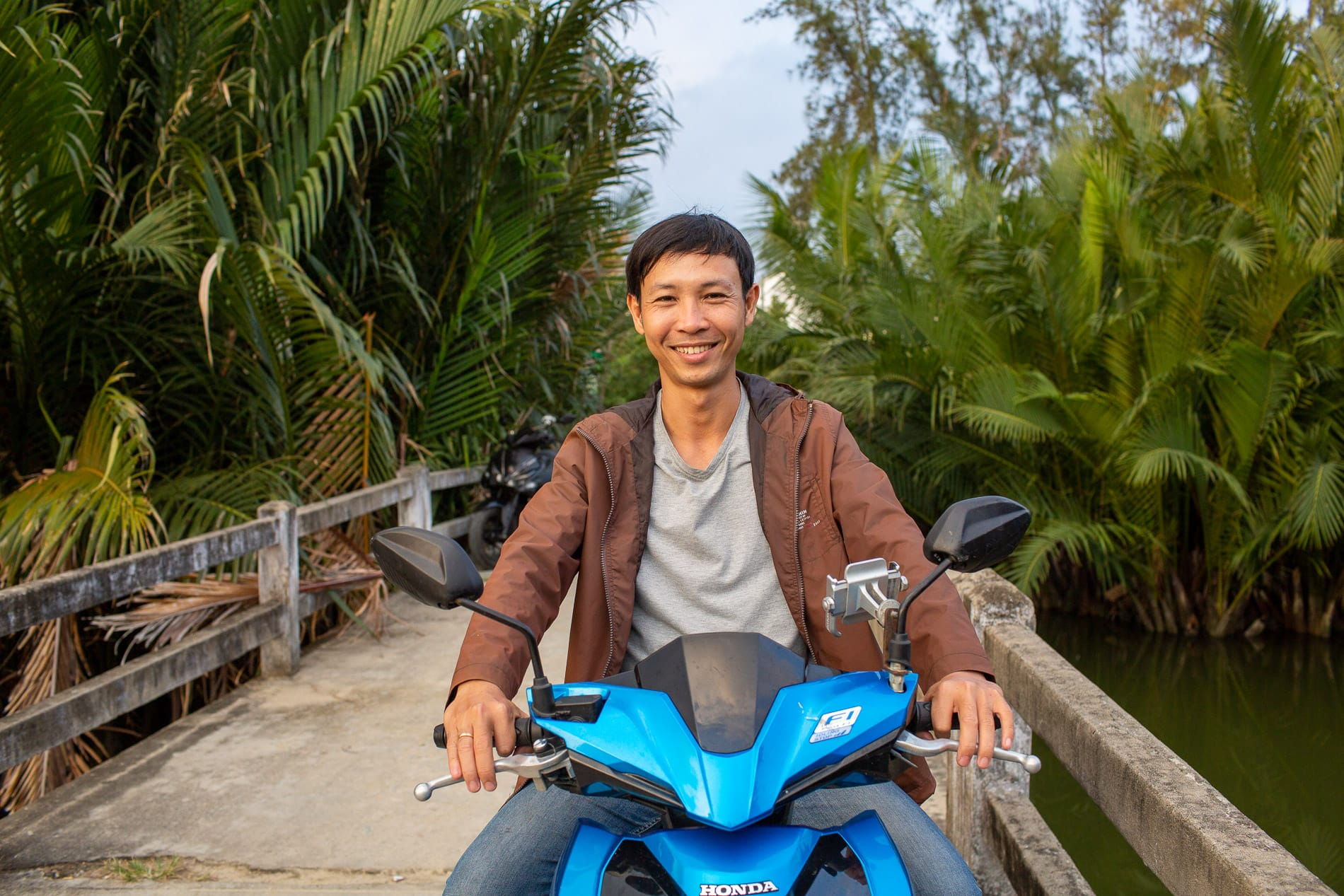 Minh, owner of Hoi An Bike Rental