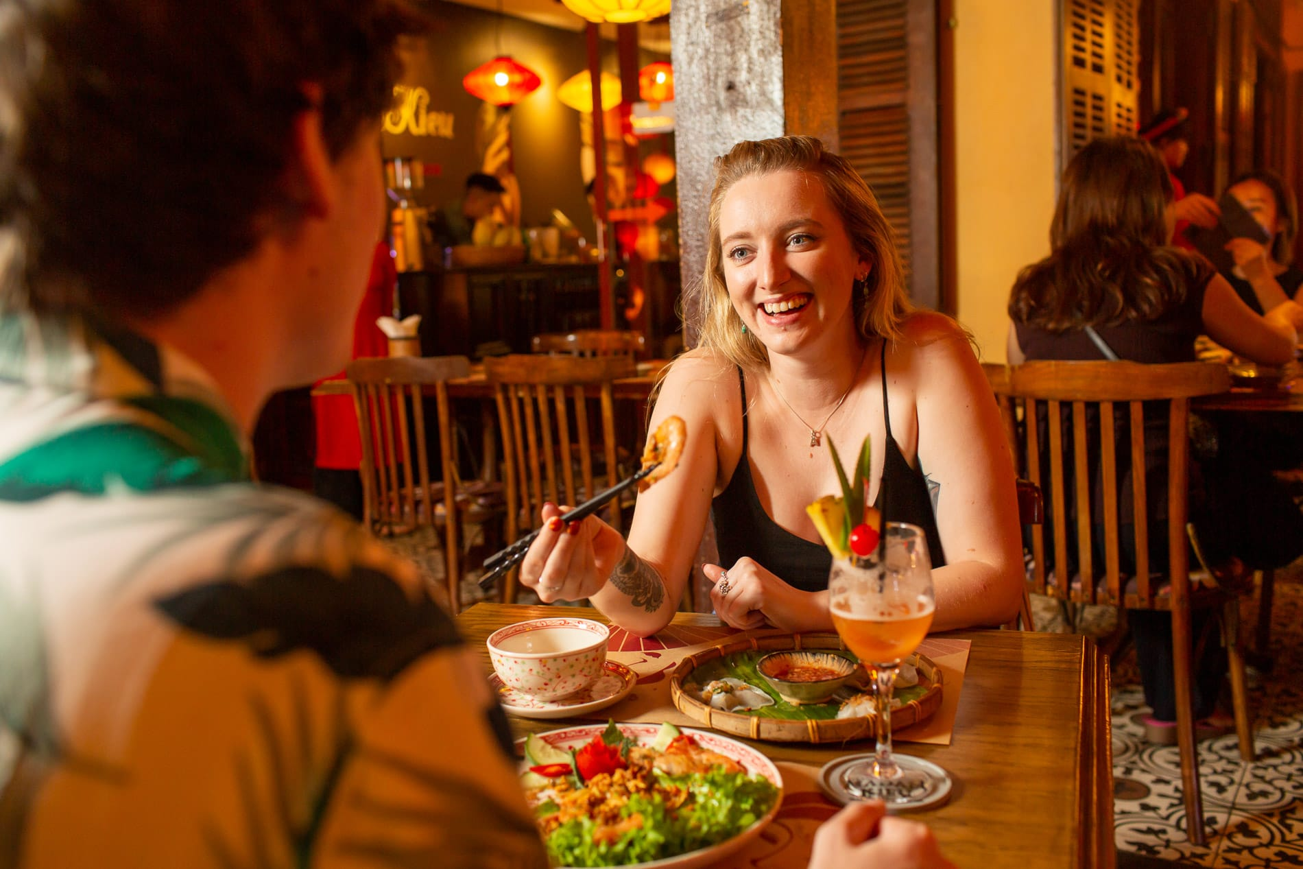 Dinner date in Hoi An