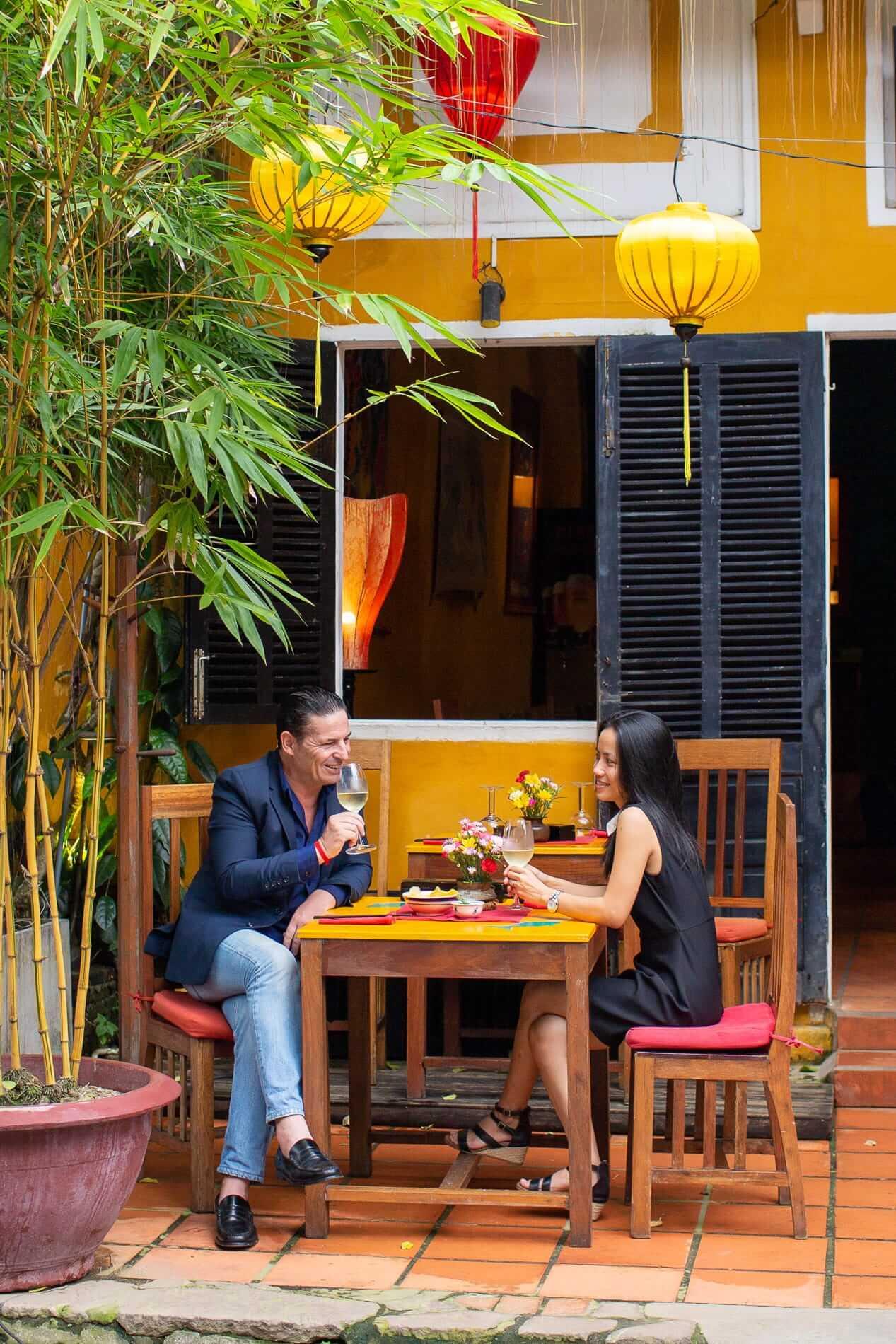 Romantic Hoi An restaurant