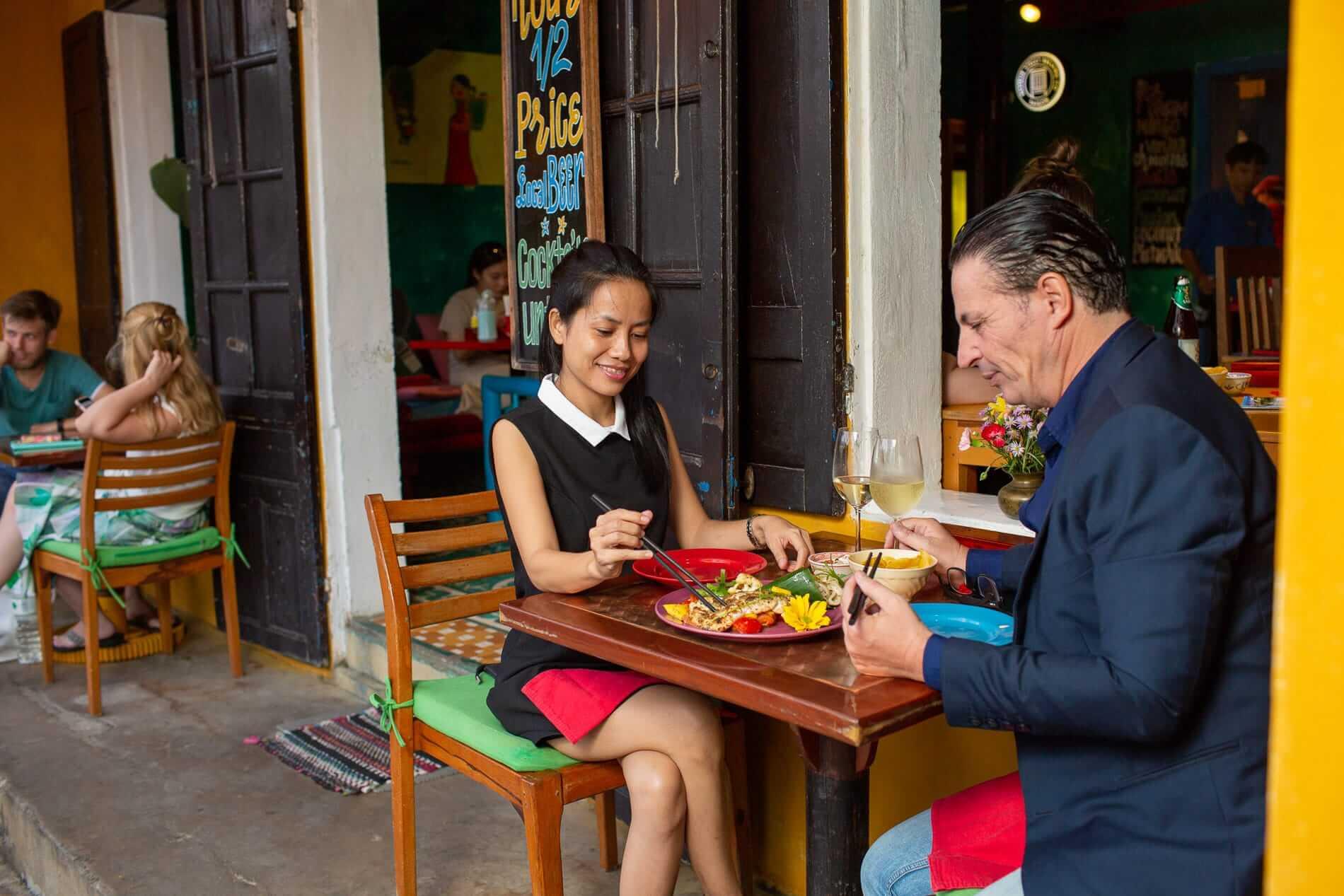 Hoi An restaurant exterior