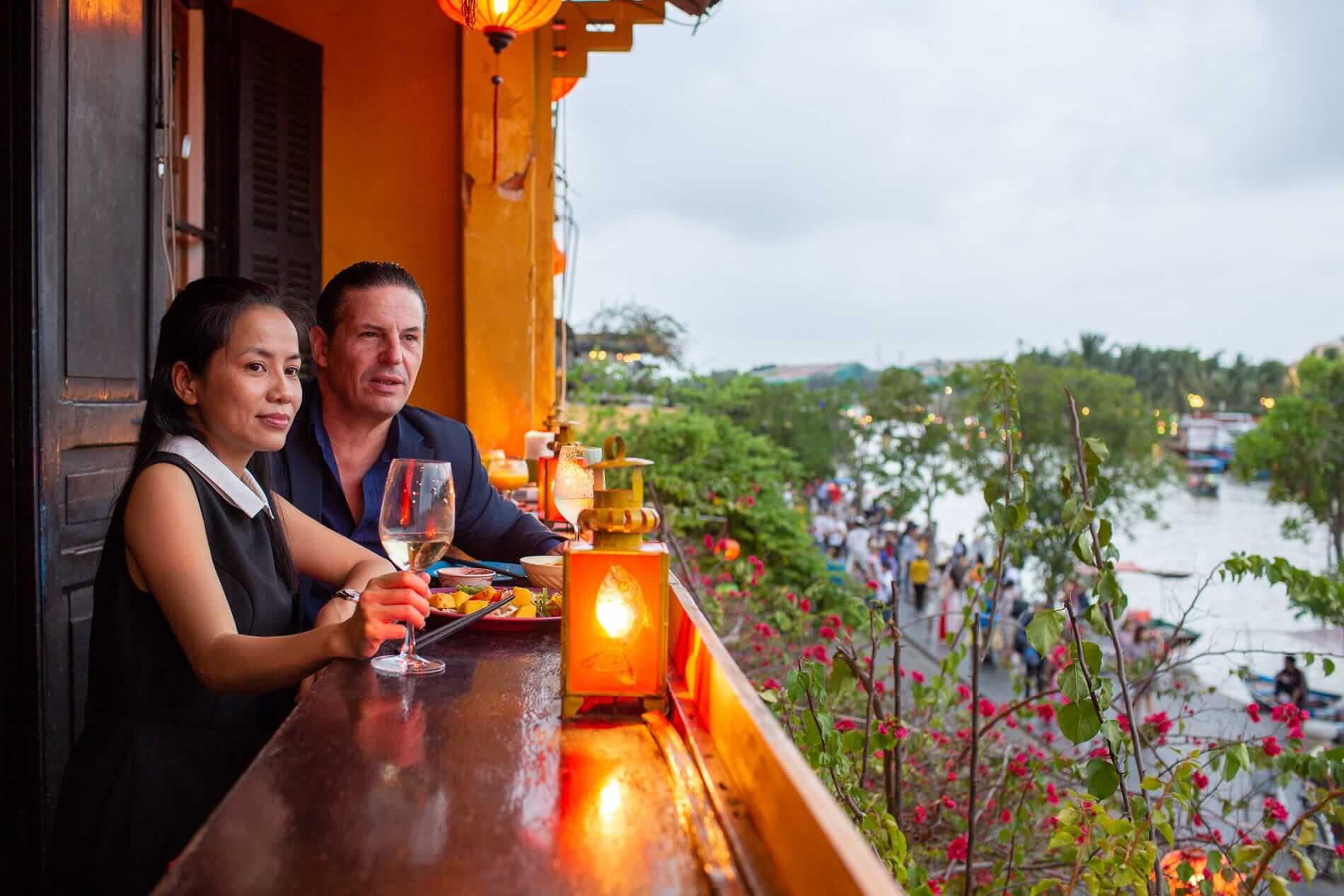 Mango Rooms Riverside Balcony