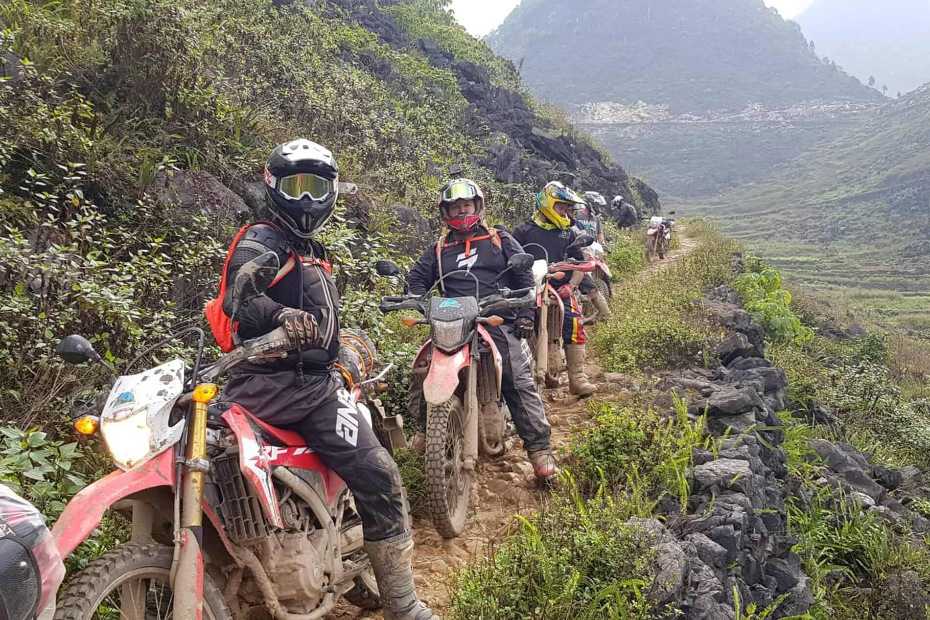 Off road roate through Northern Vietnam