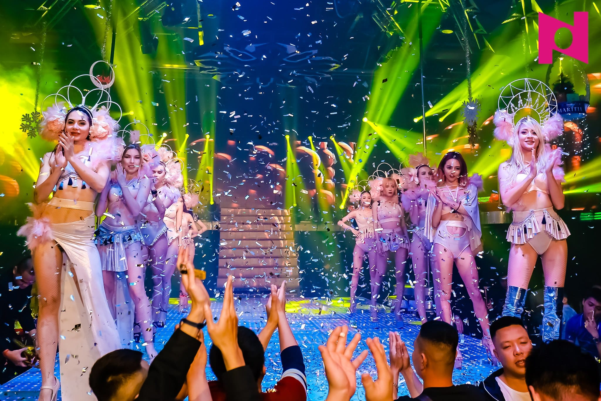 Stage shows at Phuong Dong Nightclub
