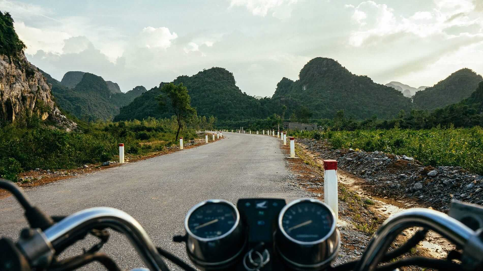 a motorbike tour from Hoi An to Phong Nha