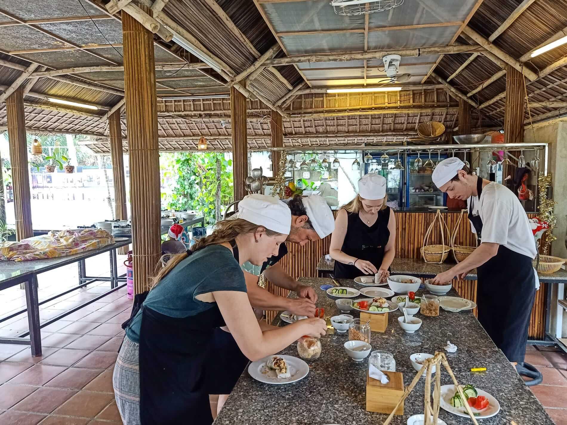 Cooking class with Sabirama Food Tours