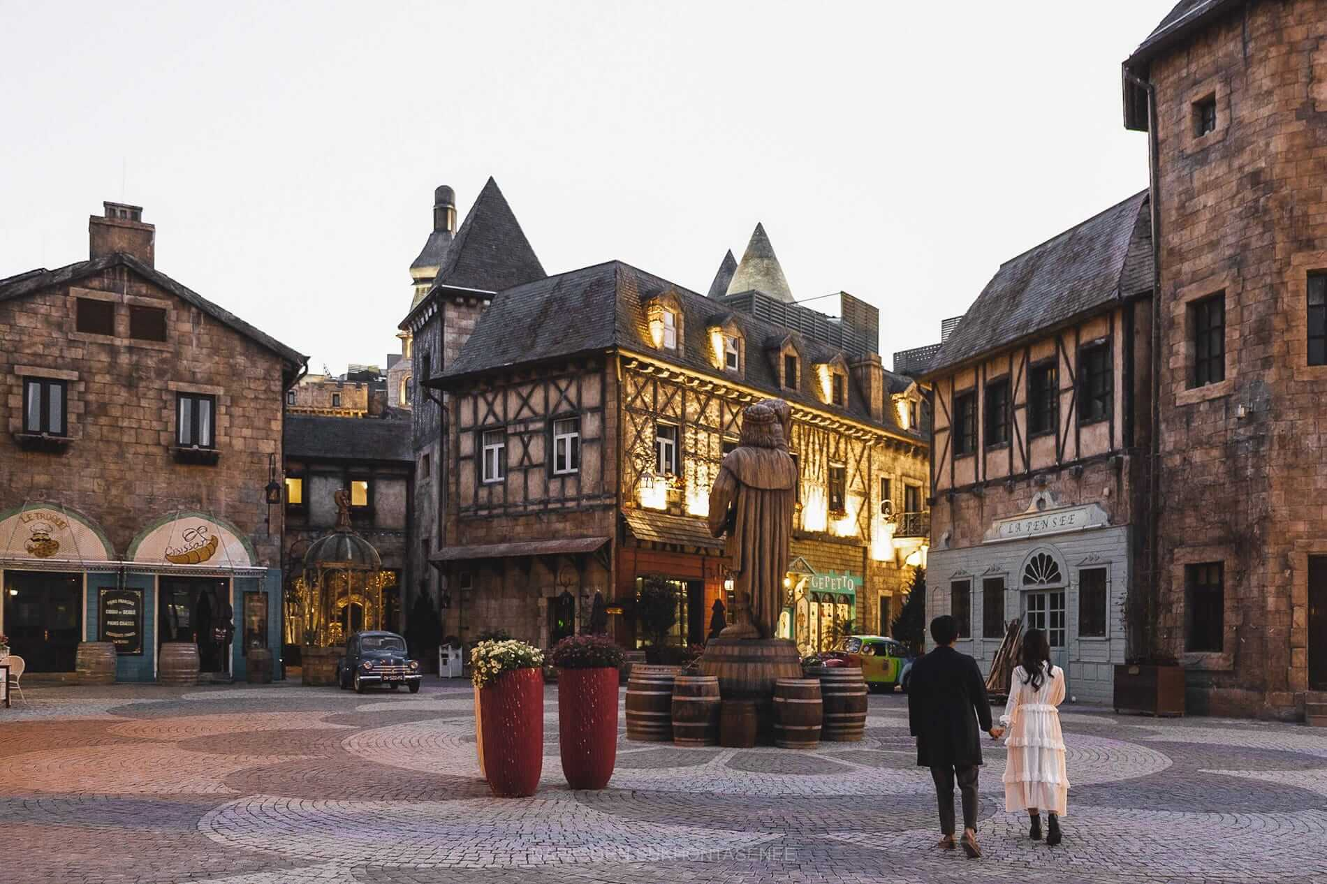 The French Village at Ba Na Hills