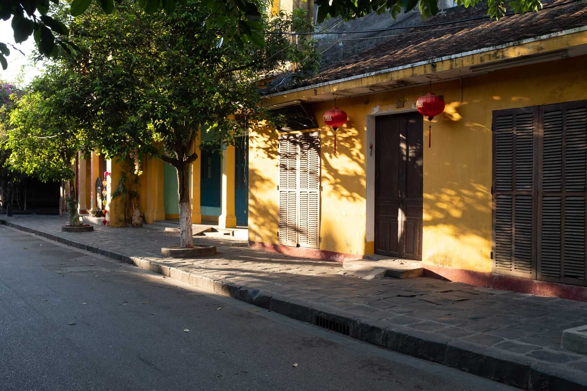 A calm morning at the Old Town, Hoi An