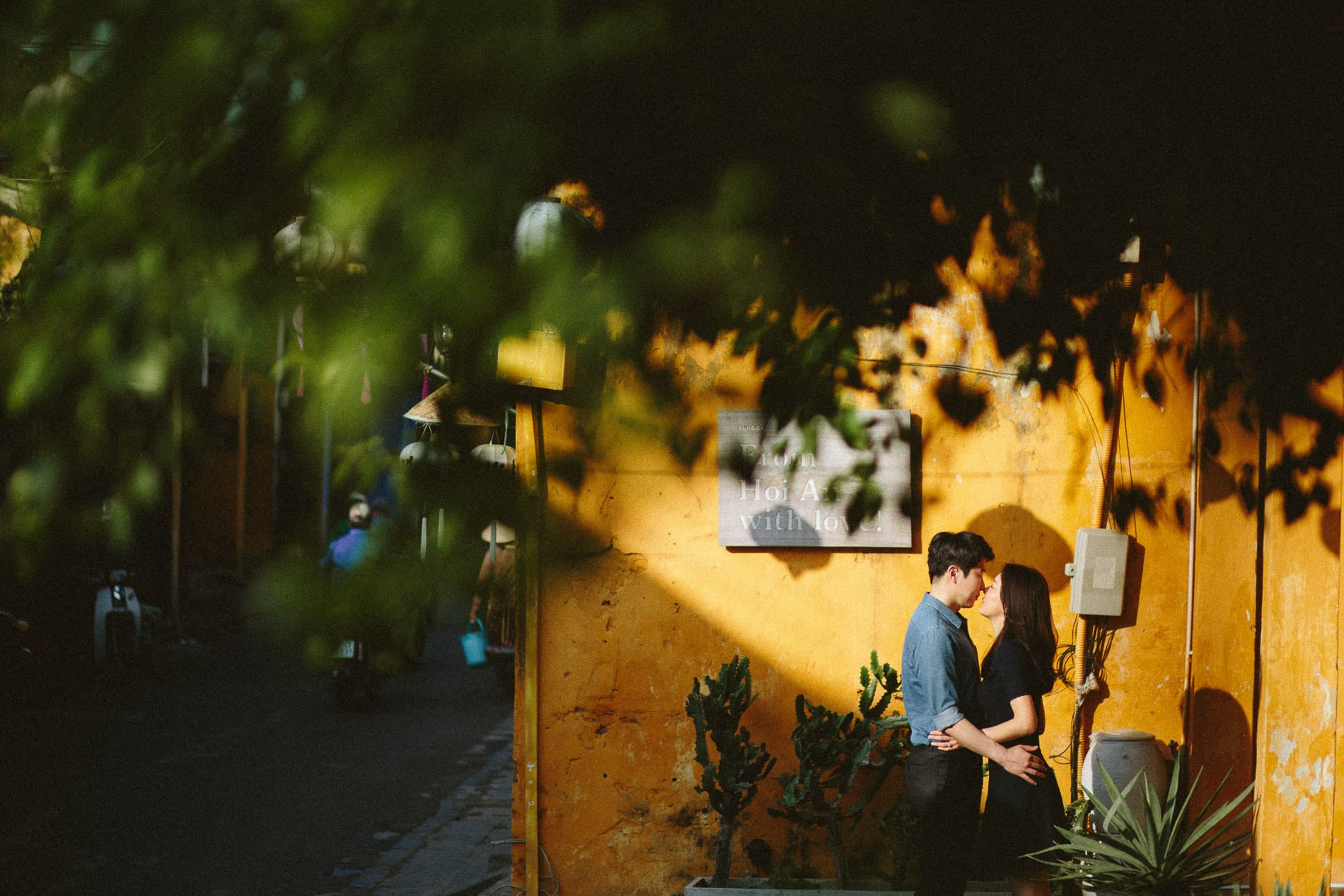 Hoi An includes a pre wedding shoot