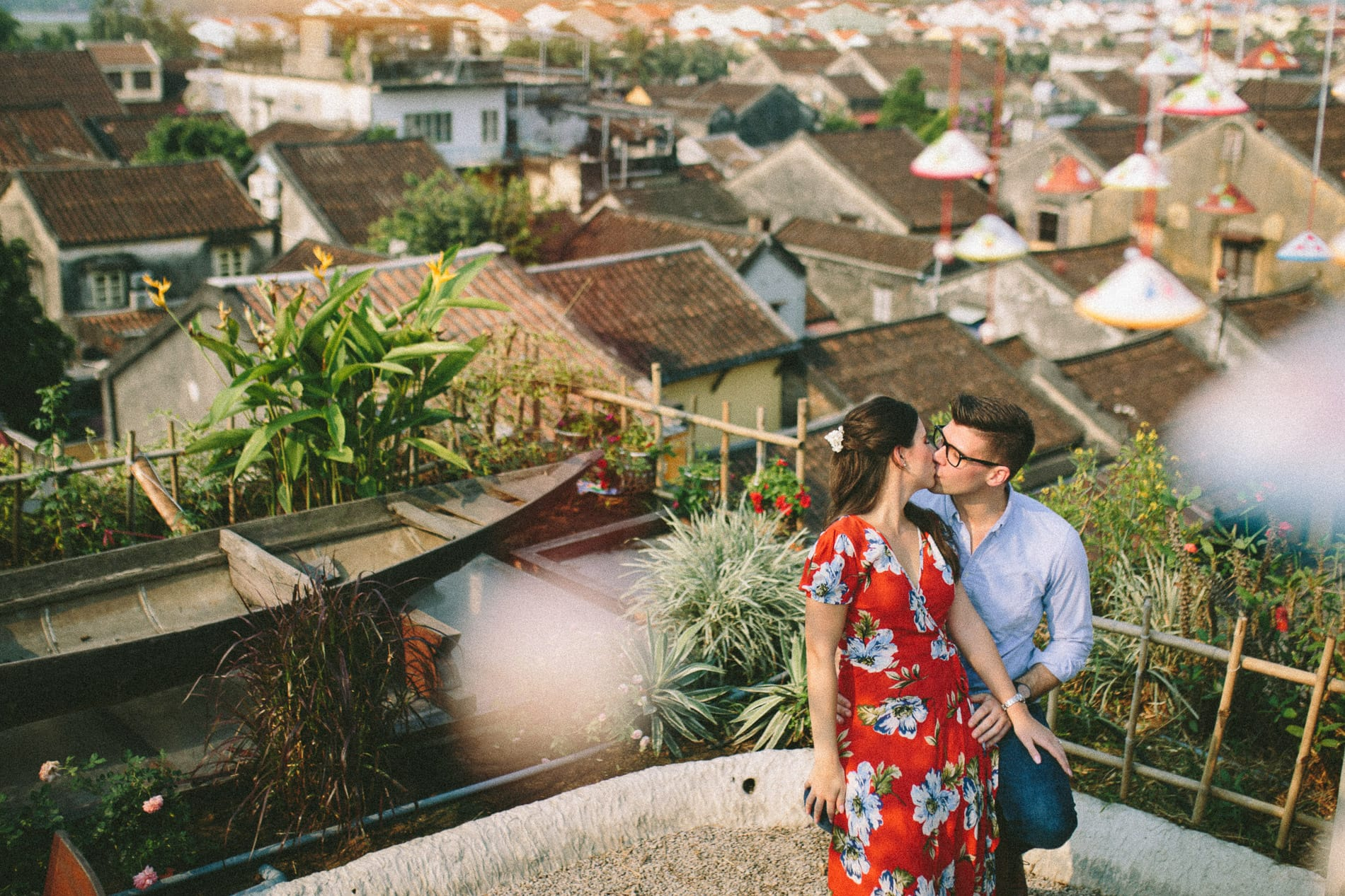 Hoi An is perfect for wedding photography