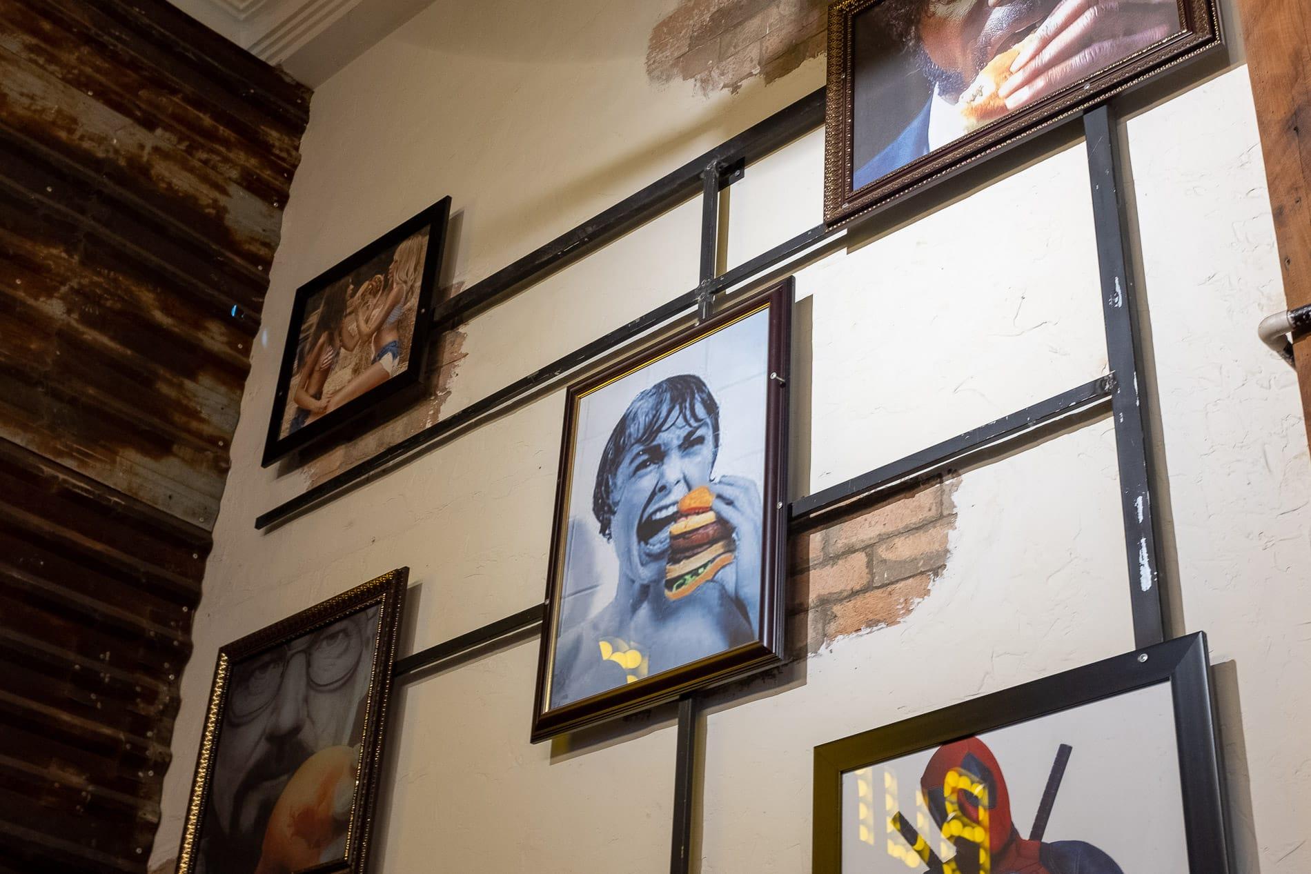 Burger Craft displays famous films