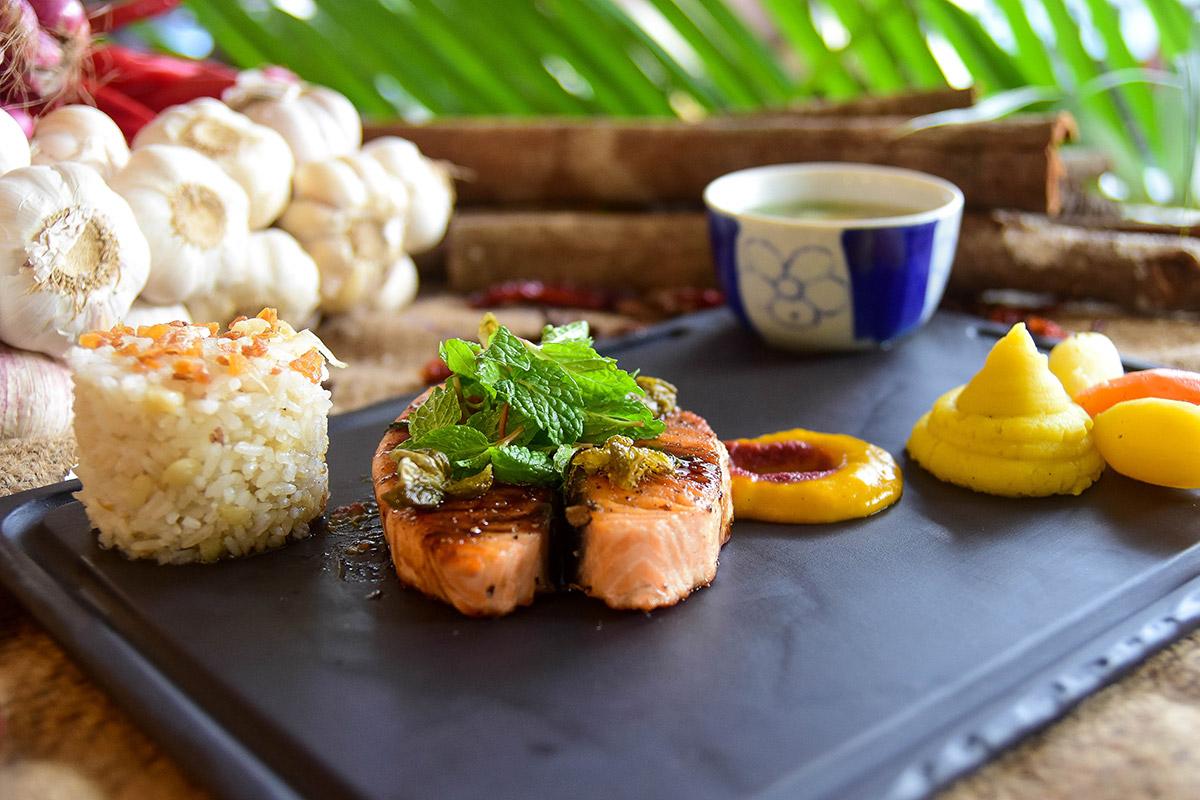star quality food at Furama