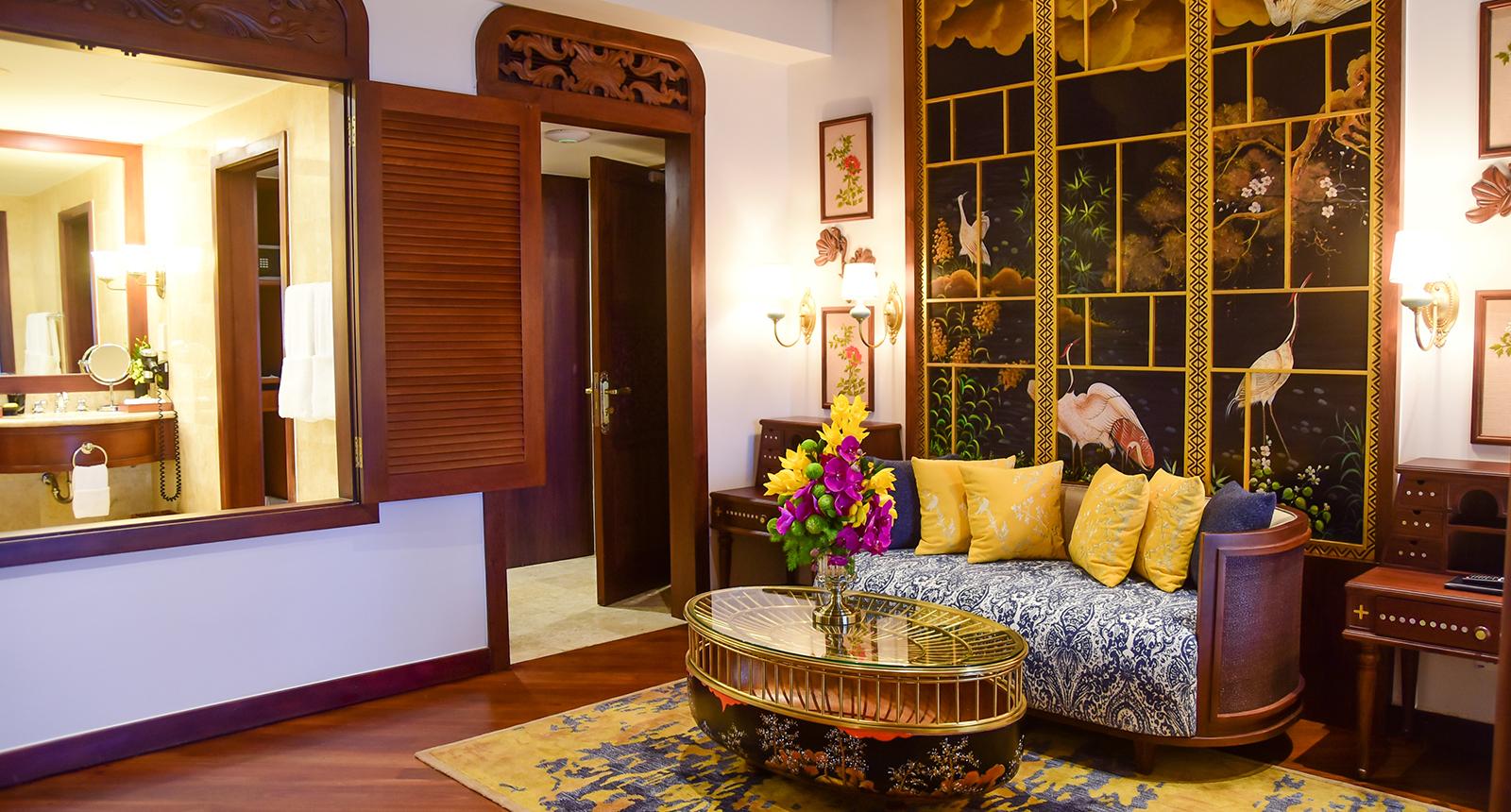 Gorgeous decor at Furama Resort
