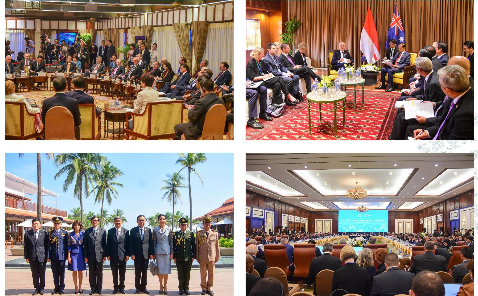 A high level conferences at Furama Resort Da Nang