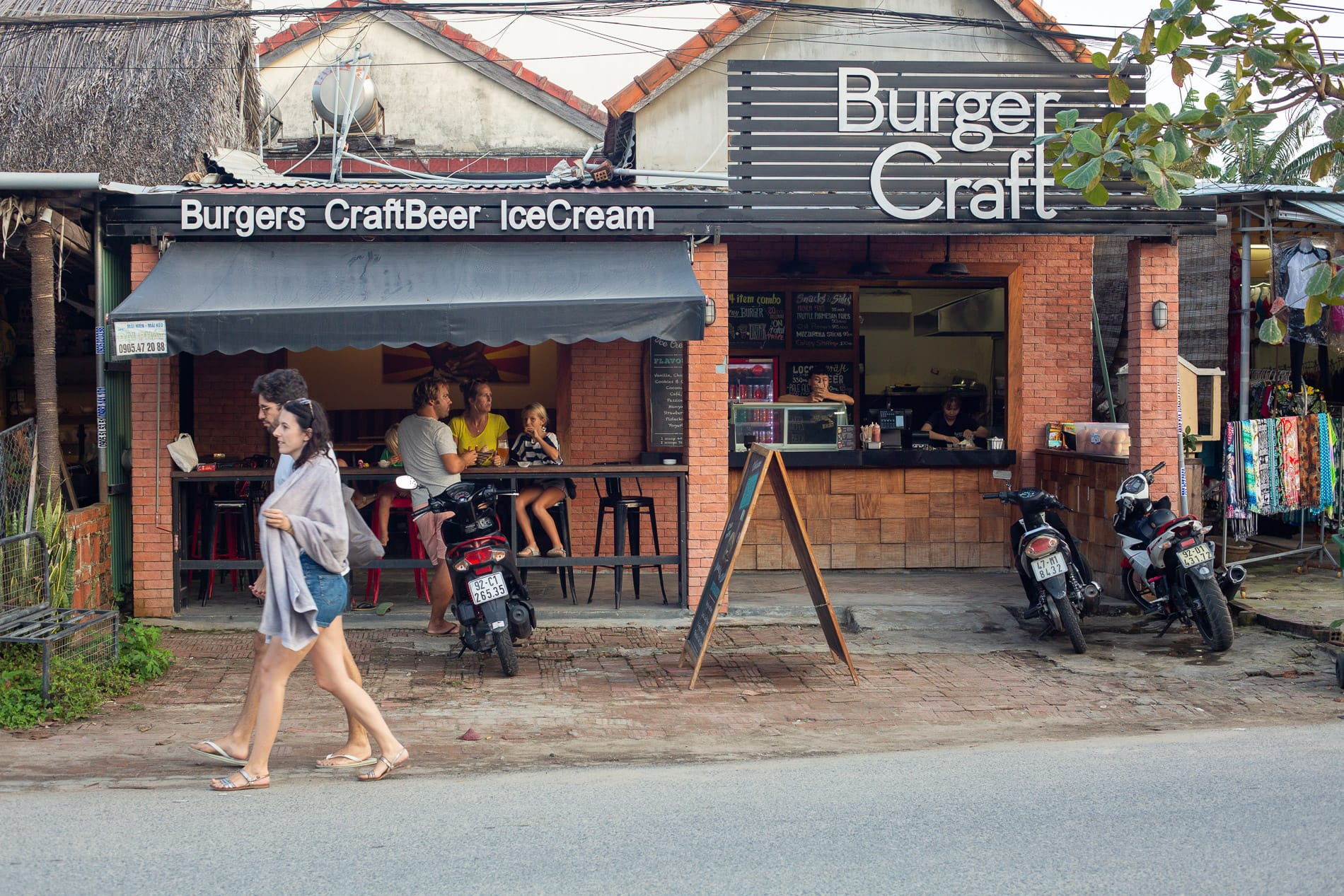 The best burger can be found at Burger Craft