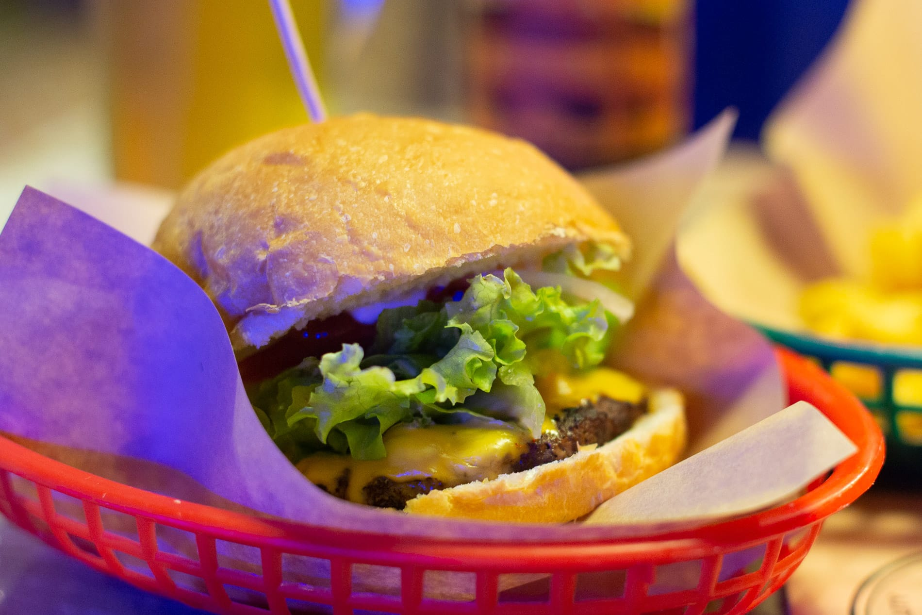 Yummy burger in Hoi An