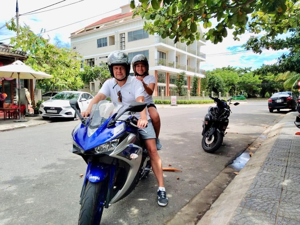 Hoi An Bike Rental Yamaha R3