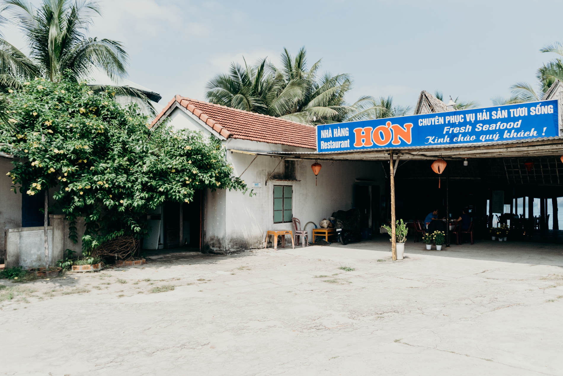 Hon Restaurant is one of the best beach restaurants in Hoi An