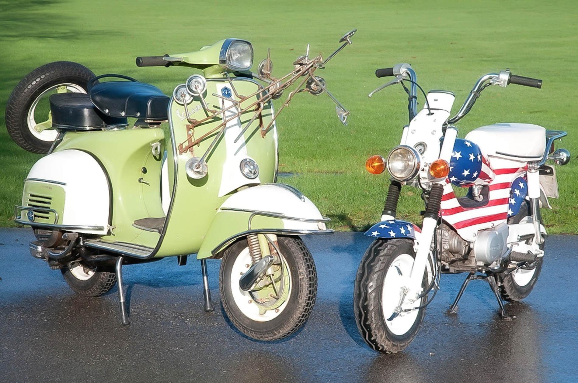 Motorcycles used in Top Gear Vietnam
