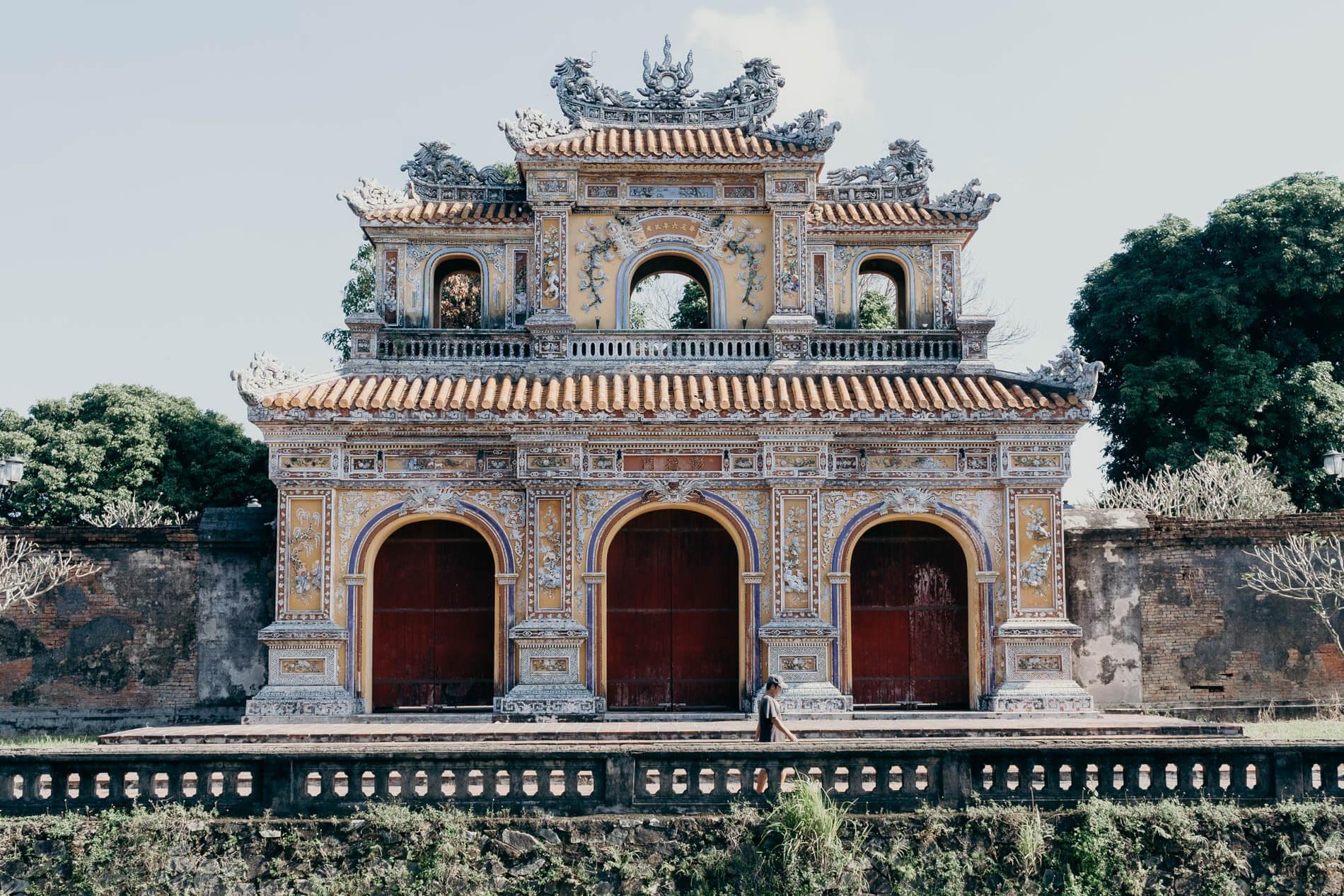 A citadel in Hue