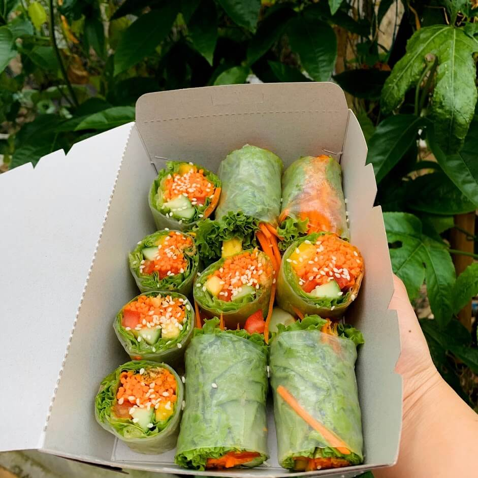 Yen Hoi An Cafe spring rolls