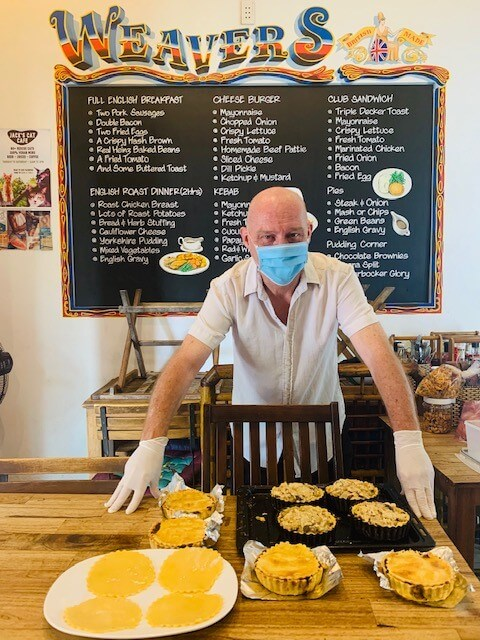 Weavers First Batch offers food delivery in Hoi An