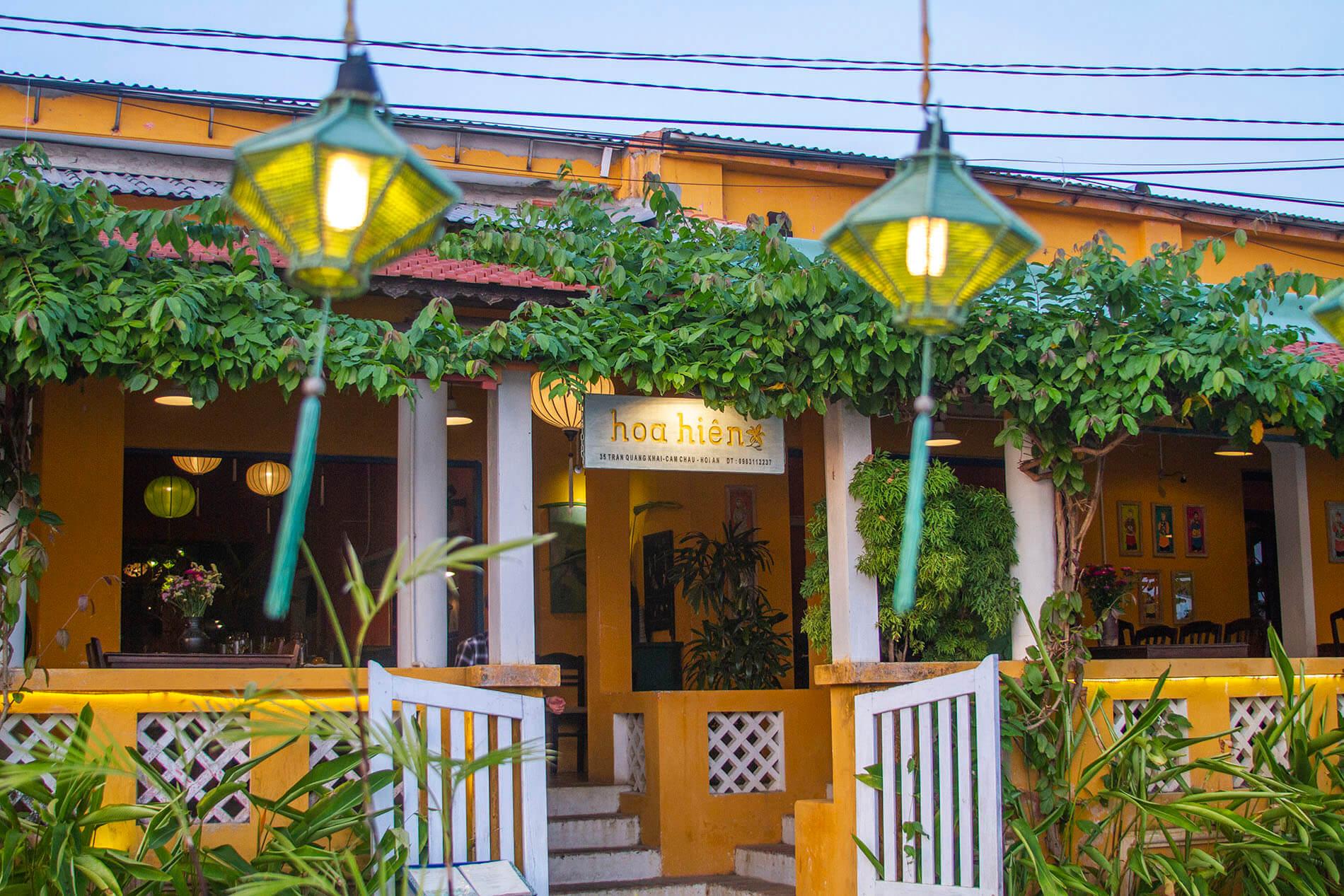 Hoa Hien is one of the best Vietnamese restaurants in Hoi An