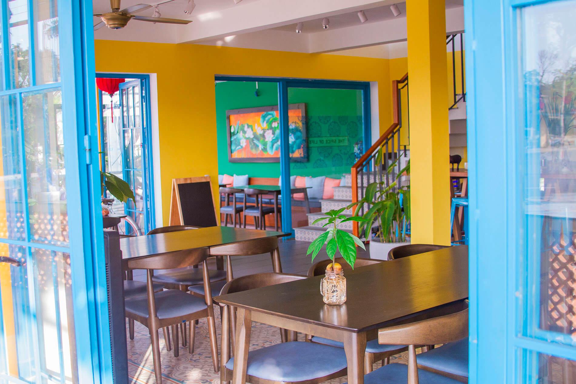 Cozy setup at Ixora Cafe & Dining
