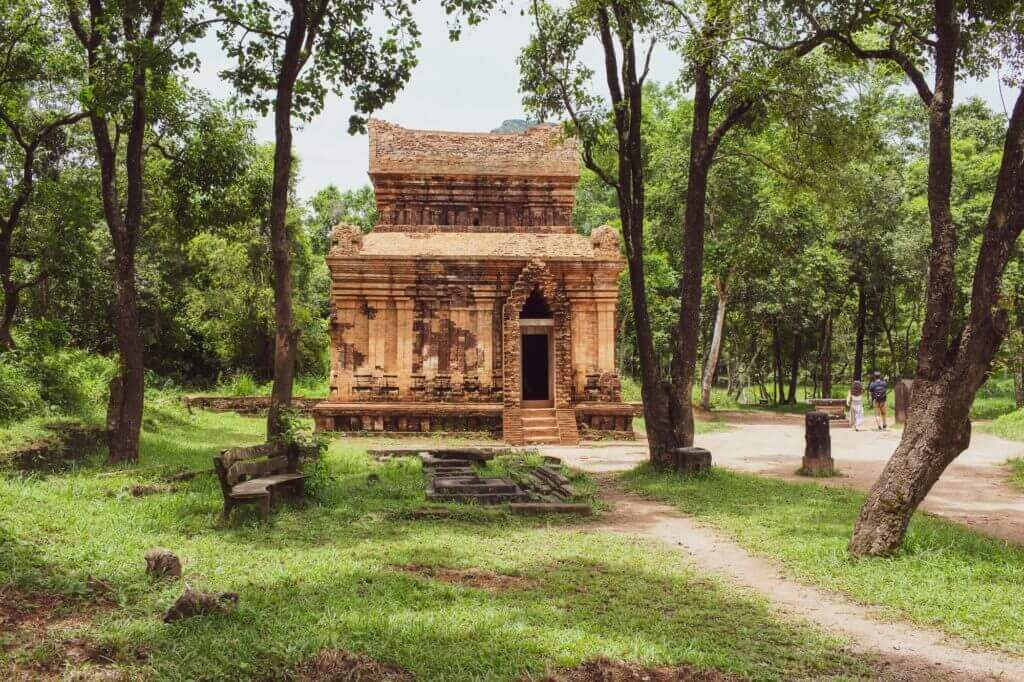 One of the temples of My Son Sanctuary
